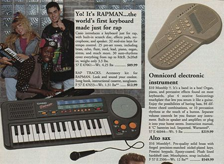 RAPMAN in the 1991 Sears Wish Book