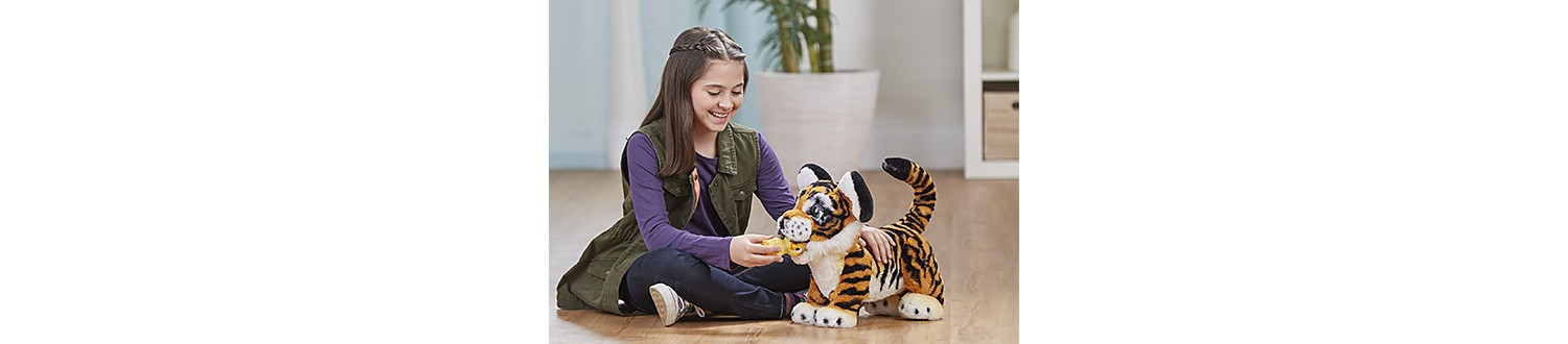FurReal Friends Roarin' Tyler the Playful Tiger in 2017 Sears Wish Book