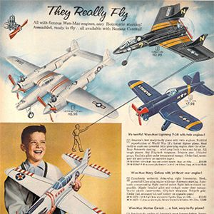 Then & Now: Airplane Toys