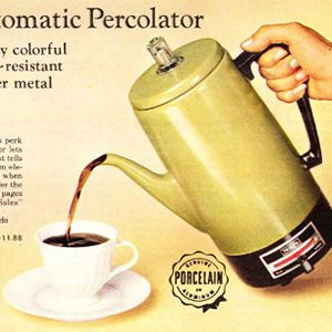 Then & Now: Coffee Makers