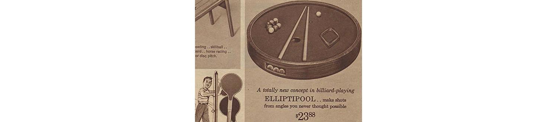 ELLIPTIPOOL in the 1964 Sears Christmas Book