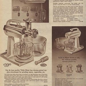 Then & Now: Small Kitchen Appliances