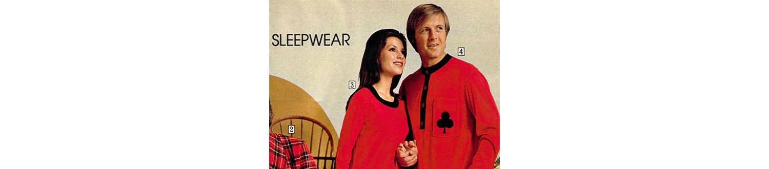 Matching sleep dresses from the 1972 Sears Wish Book