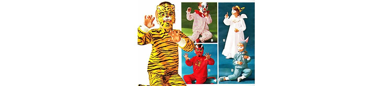 """Kids """"pretend"""" pajamas from 1968 Sears Wish Book"""
