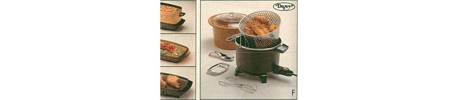 Deep fryer from the 1989 Sears Wish Book