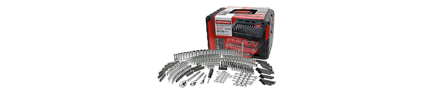 Craftsman 450- piece Mechanic's Tool Set