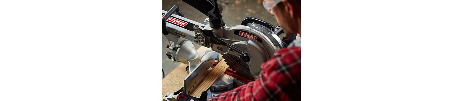 "Craftsman 10"" Single Bevel Compact Sliding Compound Miter Saw"