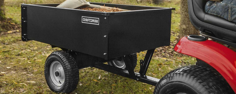 Sears Craftsman Garden Tractor Attachments : Lawn tractor attachments you need this season sears