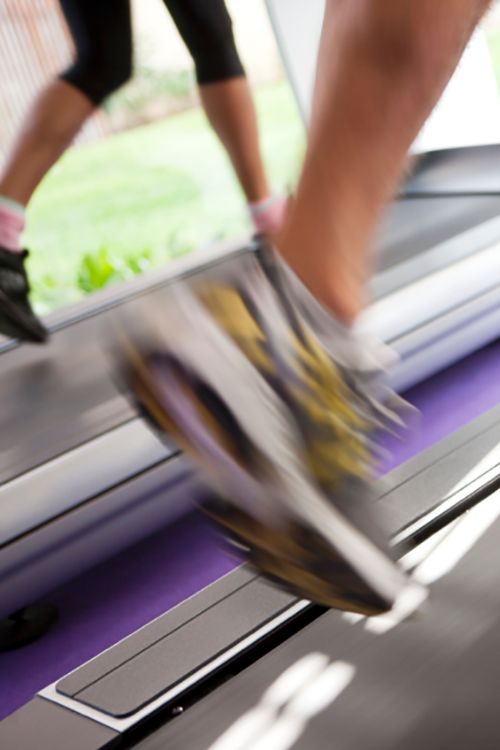 Treadmill performance features