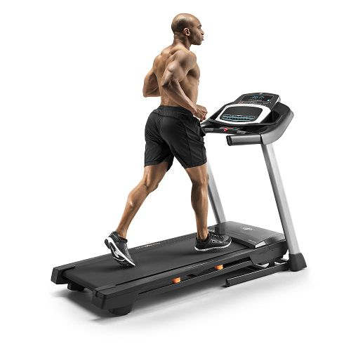 Woman on NordicTrack 6.7 S Treadmill