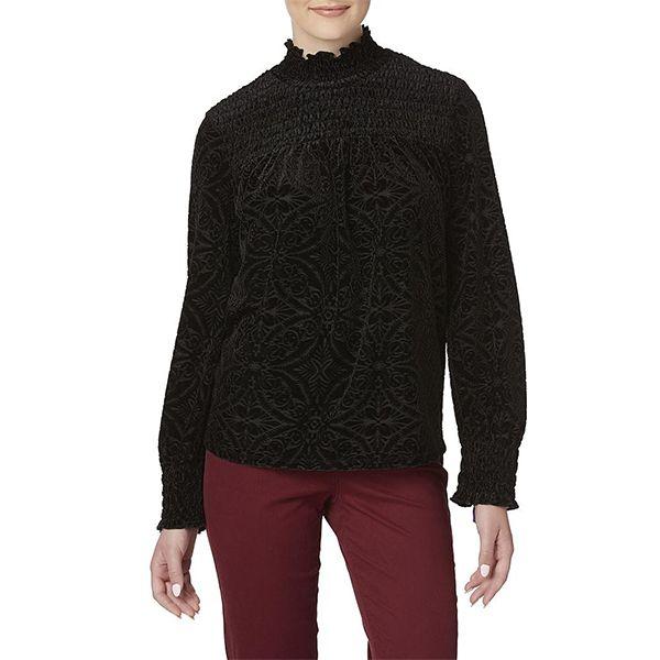 Women's velour shirt