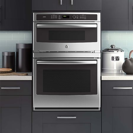 Stainless steel wall oven