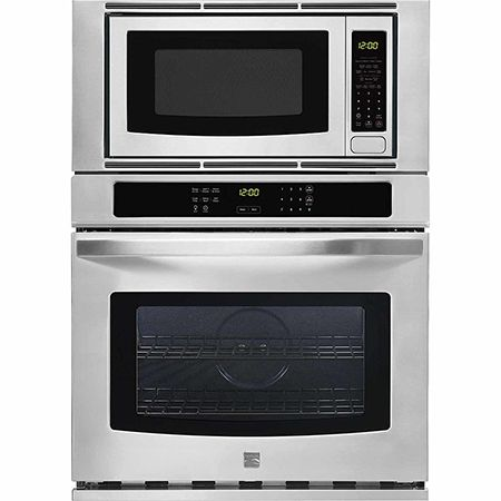 Wall oven & microwave combination