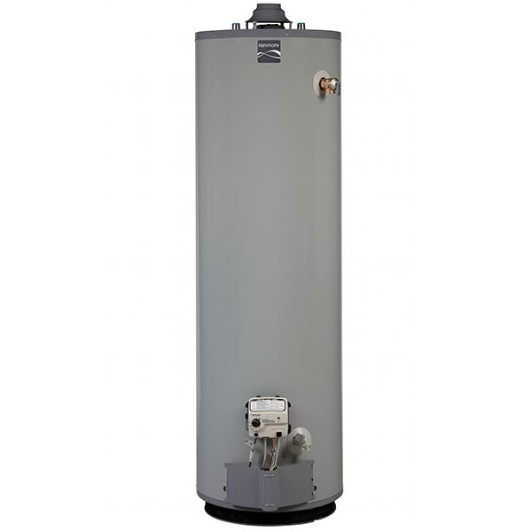 Liquid propane water heater