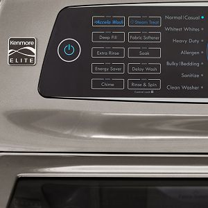 Steam Treat cycle on a Kenmore washer