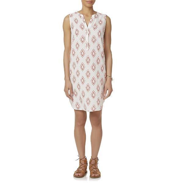 Simply Styled Women's Notch Neck Dress