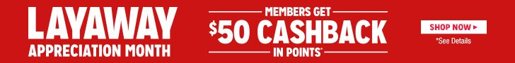 Members get $50 cashback in points