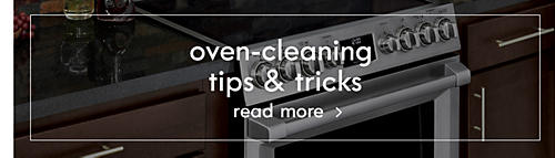 Oven-cleaning tips & tricks | Read more