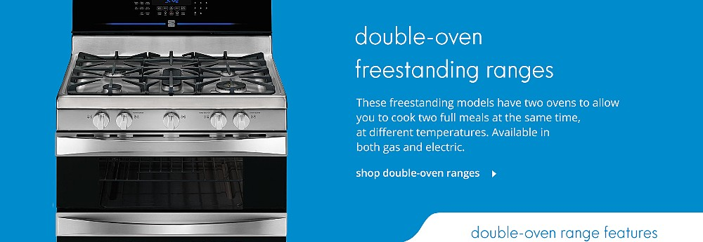 Shop Double-Oven Freestanding Ranges