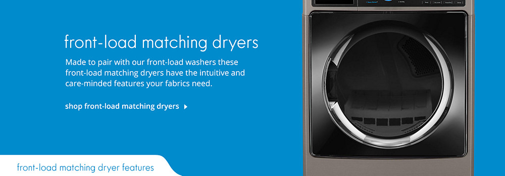 Shop Front-Load Matching Dryers