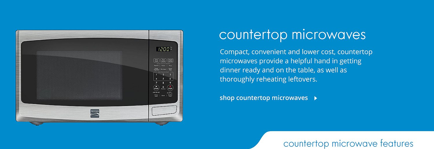 shop countertop microwaves