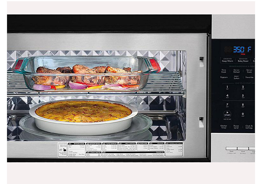 Microwave + Convection Combi Cook