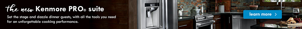 the new Kenmore PRO Suite