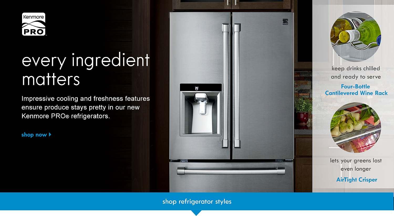Kenmore PRO Refrigerators