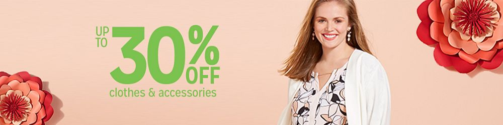 433281215 Up to 30% off Women's Plus Size Clothing