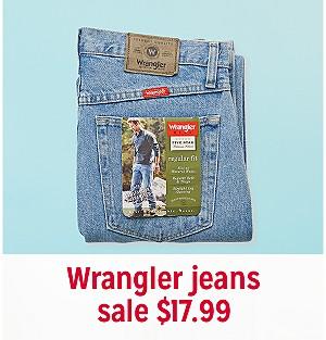 f886155dbe7 Wrangler jeans, sale $17.99