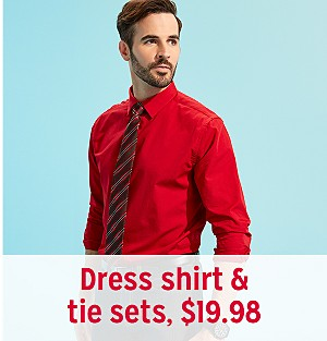 363f89560f Dress shirt & tie sets, $19.98. Shop by Category. Men's Shirts