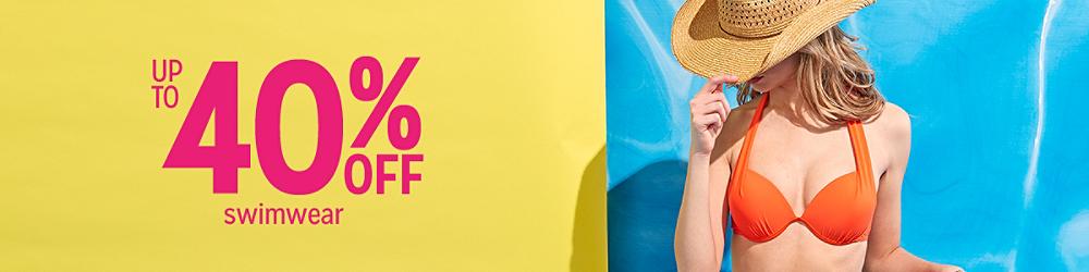 Up to 30% off Swimwear