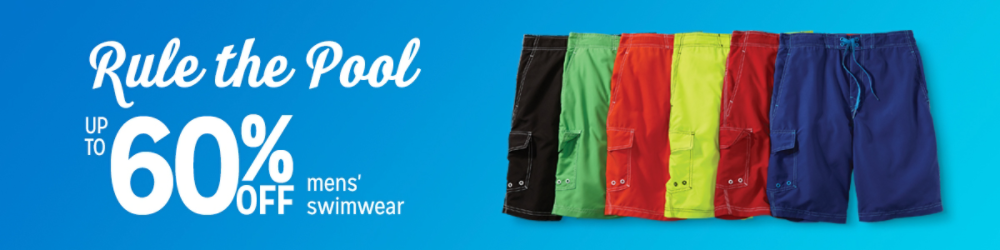 Rule the Pool We're your spot for trunks, boardshorts & more