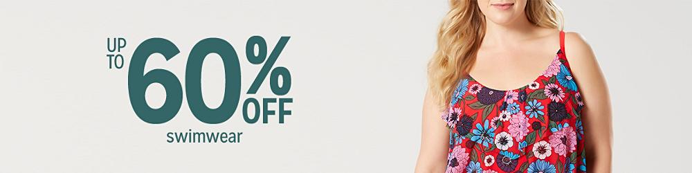 Up to 60% off Swimwear