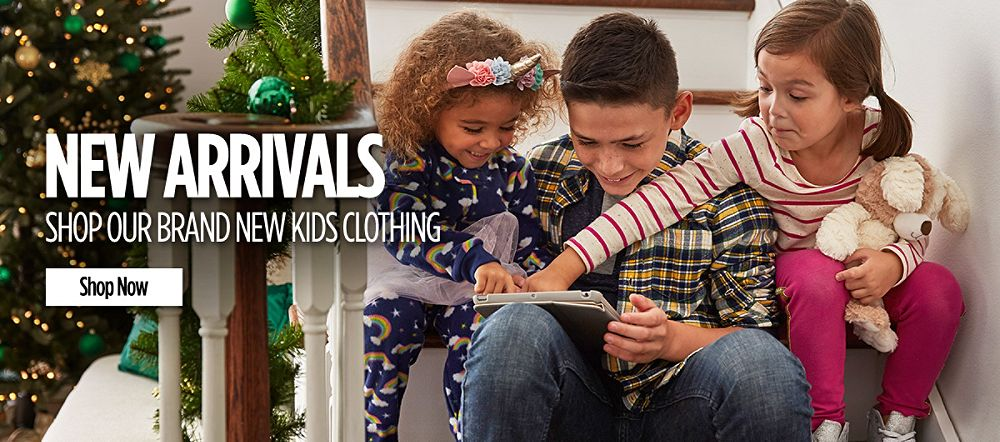 Kids Clothing | New Arrivals. Shop now