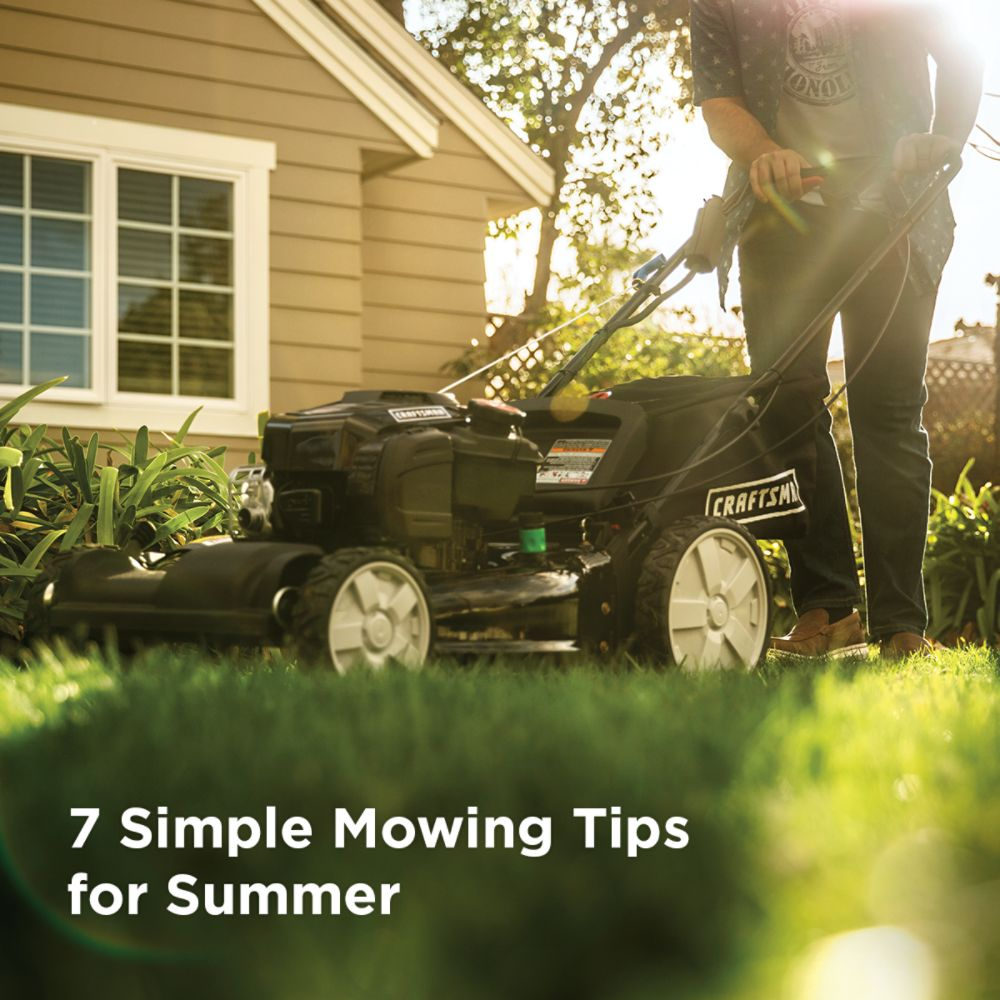7 Simple Mowing Tips for Summer