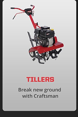 Break new ground with Craftsman
