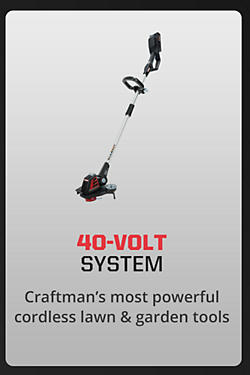 Craftsman's most powerful cordless lawn & garden tools