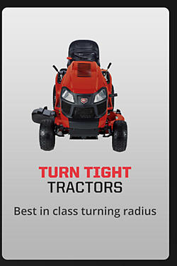 Best in Class Turning Radius