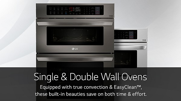 LG Single & Double Wall Ovens