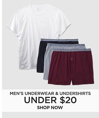 Men's Underwear & Undershirts Under $20