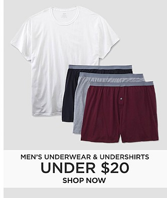 Men's Underwear & Undershirts Under $20