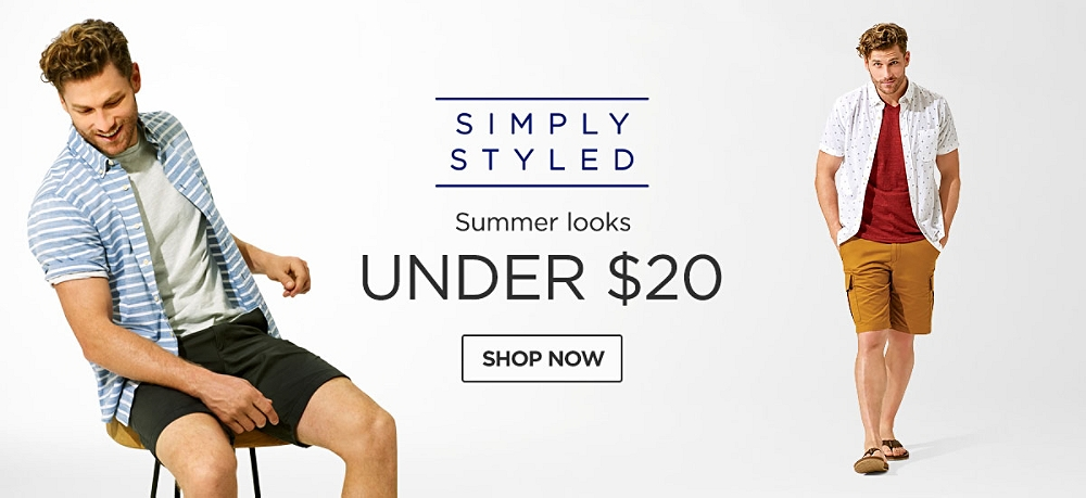 Simply Styled summer looks under $20