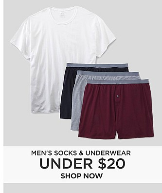 Men's Socks & Underwear Under $20