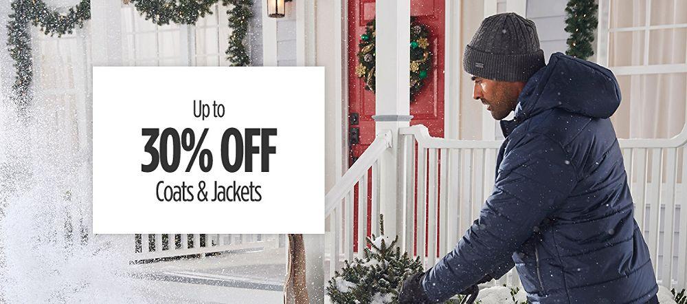 Up to 30% Off Men's Big & Tall Coats & Jackets