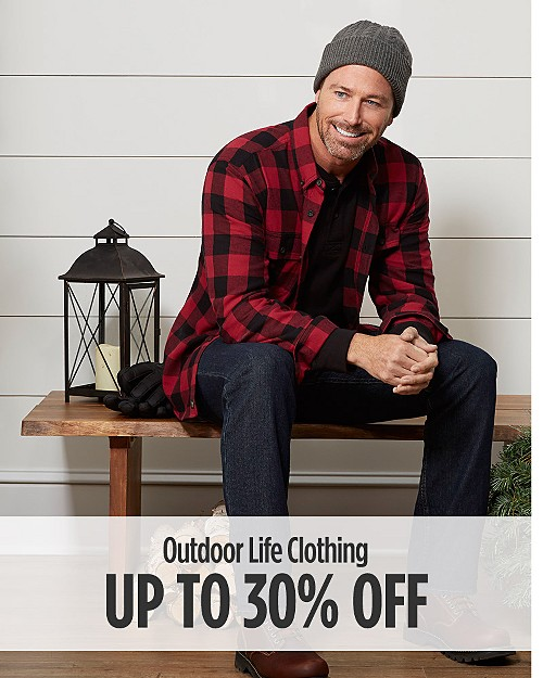 Up to 30% off Outdoor Life Clothing