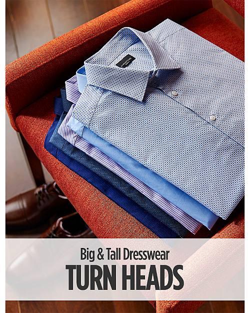 Turn Heads! Big & Tall Dresswear