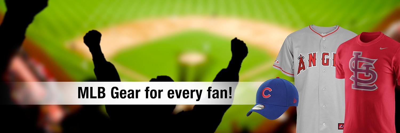 MLB gear for every fan