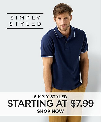 Simply Styled. Starting at $7.99. Shop Now