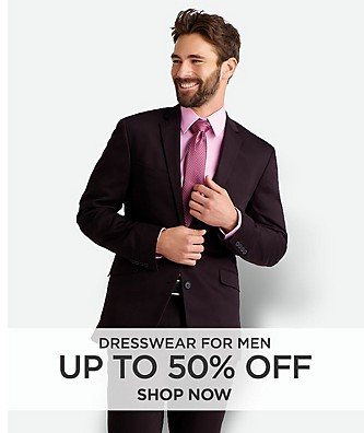 Up to 50% off Dresswear for men